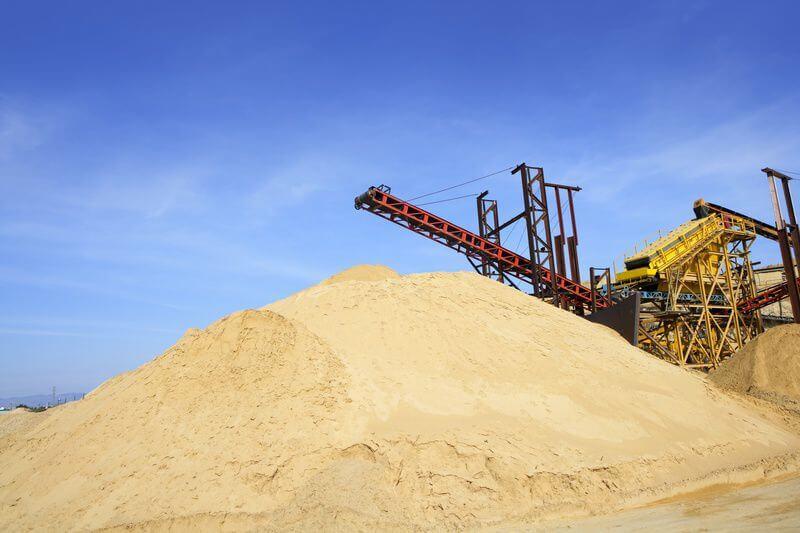 Карьерный песок в СПб